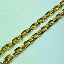 Cadena Forcet Oro 18 K. Garantizada