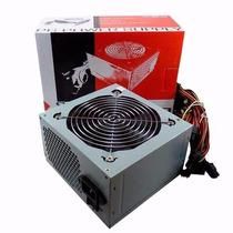 Fuente Atx 500w Kelyx Cooler 12cm Box (caja X10 U)