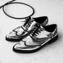 Abotinado Aspen Plateado/ Bordo- Kloosters/ Zapatos