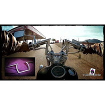 Manubrio Brat Cromado Moto Chopper Custom