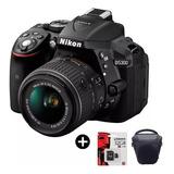 Nikon D5300 Full Kit Lente 18-55 Camara Reflex Bolso + 32gb