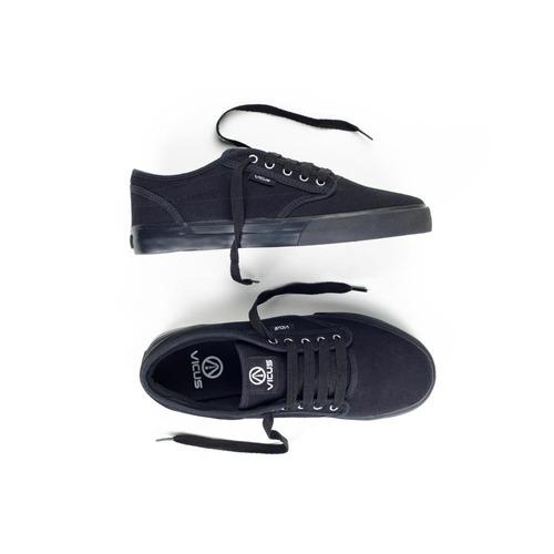 Zapatillas Vicus Black Suela Negra Canvas Lona Nuevas Mujer a9293b21289