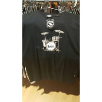 Remera Vitalogy Beatles Drum - Talle S, M, L, Xl, Xxl