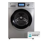 Lavarropas Automático Ge Appliances 10 Kg Lvge10e16m Plat
