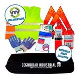 Kit De Seguridad Automotor 8 En 1 Reglamentario Vtv Premium