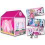 Casita De Juegos Plegable Barbie 2 En 1 De Tv! Faydi Jiujim