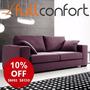Sillon Sofa Living 2/3 Cuerpos Linea Premium + Cuotas Mp