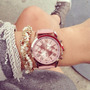 Reloj Números Romanos - Geneva - Cuero Ecológico - Mujer