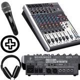 Consola Behringer Xenyx 1204usb + Mic + Auricular De Regalo