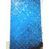 Vidrio Tipo Antiguo Morisco En Azul Y Verde