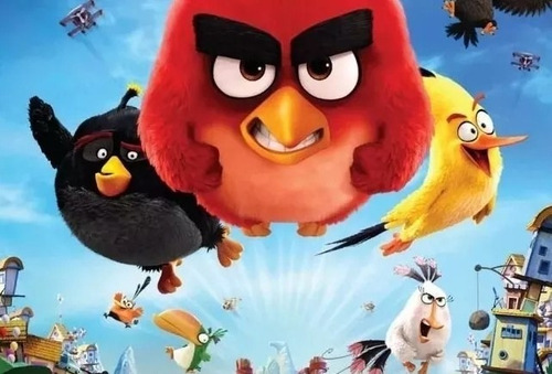 Kit Imprimible Angry Birds Full Fiesta 3x1