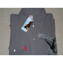 Camisa De Bambula Manga Corta -talle 1 (small) - Liquido!!