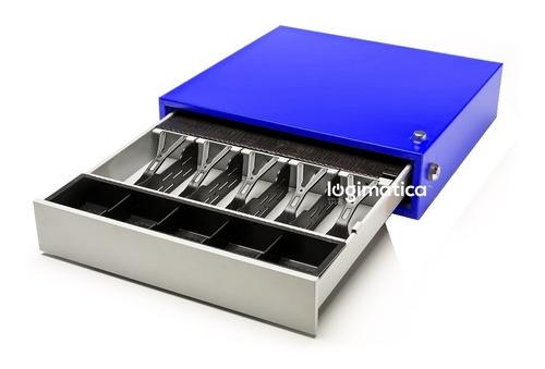 Caja Para Dinero Gaveta Registradora 5 Comp Con Secreter en