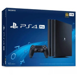 Playstation Ps4 Pro 7115b 1tb 4k  2018 Originales+garantía