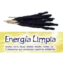 Sahumerio Energia Limpia 7 Elementos Triple Empaste
