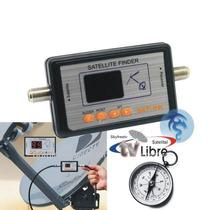 Satfinder Satlink 6903 Digital Fta + Brujula Cable Skyfreetv