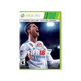 Fifa 18 Legacy Edition Xbox 360 Nuevo Original Sellado Full