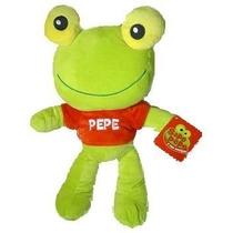 Peluche Muñeco Sapo Pepe Y Pepa 25 Cm Original Con Licencia