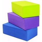 Ladrillo Yoga Pilates Bloque Goma Eva Brick Colores Taco