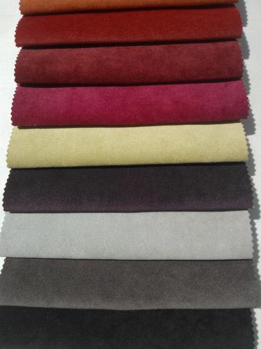 Pana terciopelo gamuzada tela tapiceria cortina - Telas para tapiceria de muebles ...