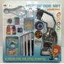 Juego Microscopio A Pila Grande Zap 3106a