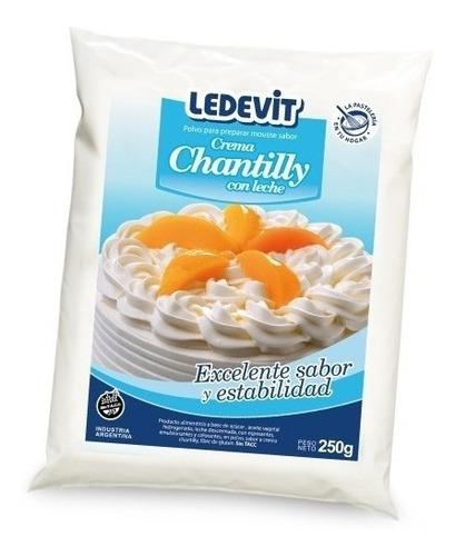 Polvo Para Preparar Crema Chantilly Ledevit Sin Tacc