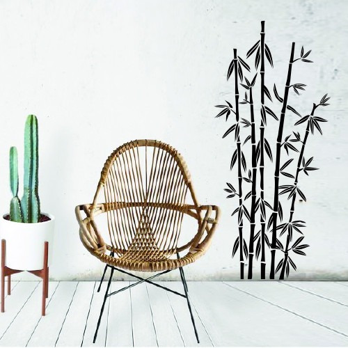 Avalon Vinilos Decorativos Naturaleza Cañas De Bambu En