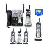 At&t Sb67118  Sb67138 4-line Corded-cordless Phone Sistema ®