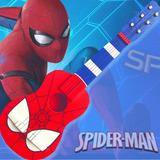 Guitarra Niños Artesanal  Hombre Araña/ Spiderman