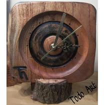 Reloj De Madera Artesanales