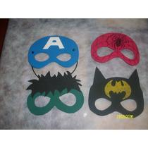 Mascaras De Superheroes Y Pricesas En Goma Eva!!