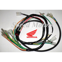 Instalacion Electrica Honda Cg Today 125 Titan 99 Nacional