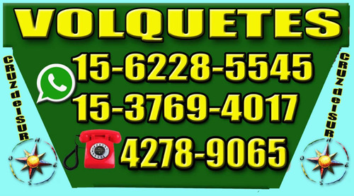 Alquiler De Volquetes Quilmes, Berazategui, Bernal Don Bosco
