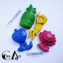 Crayones - Souvenirs - Plants Vs Zombies - Pack X 24