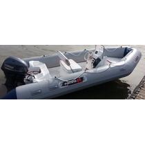 Semirrigido 4.80 La Medida Ideal Mar Rio Lagos Con 4tiempos-