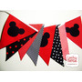 Banderines Minnie Mickey. Precio Por 4 Band Simples En 1mt