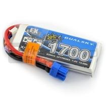 Bateria Lipo Litio Polimero Duaslky 1700mah 11.1v 35c