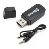 Receptor Bluetooth Para Auto Autoestereo Transmisor Envío