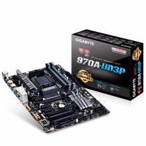 Motherboard Pc Gigabyte Ga-970a Ud3p Am3+ Usb 3.0 Sata 3 7.1