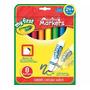 Crayola Marcadores Lavables My First Facil Agarre Para Manos