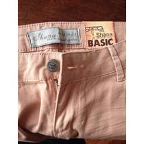 Pantalon Casual Nuevo Mujer Rosa Liviano Importado Gastado