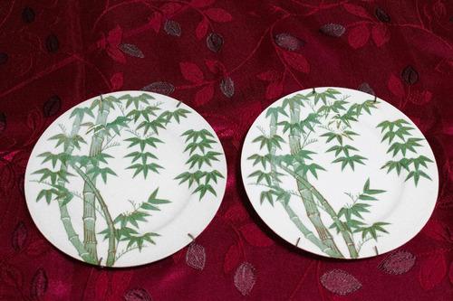 Platos Decorativos De Pared Antiguo Cañas De Bambu En Venta