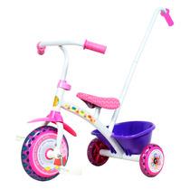 Triciclo Little Barbie Minnie Peppa Pig Helo Kitty +1 Año