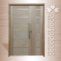 Puerta Residencial De 120 X 200, Increíble Diseño!!!