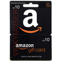 Código Gift Card 10 Dólares Para Comprar En Amazon. Hot Sale