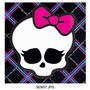 Servilletas Imp. Monster High, Casamiento, Bautismo, Comunio