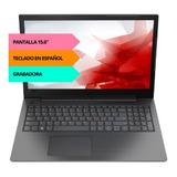 Notebook Lenovo N4000 4gb 500gb 15.6 Teclado Español 6c