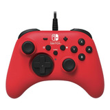 Joystick Hori For Switch Rojo
