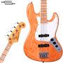 Bajo Sx Jazz Bass American Alder Y Maple Fender 12cuotas