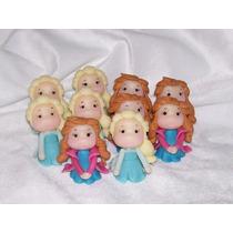 Frozen Elsa Y Anna Muñequitas Souvenirs